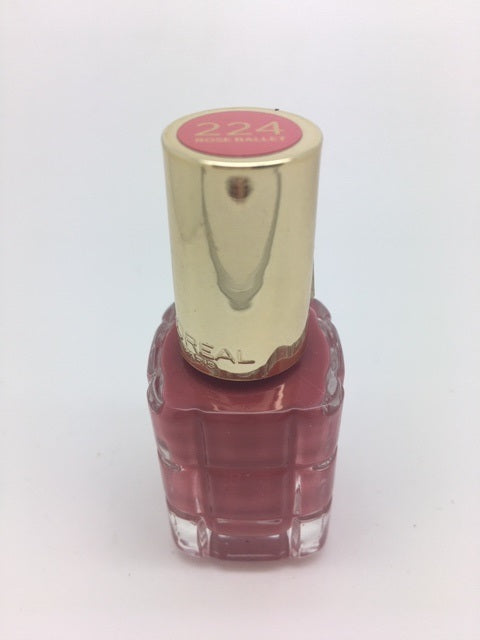 L'oreal Color Riche Nail Polish A L'Huile, 224 Rose Ballet x 6 (£0.50 each)