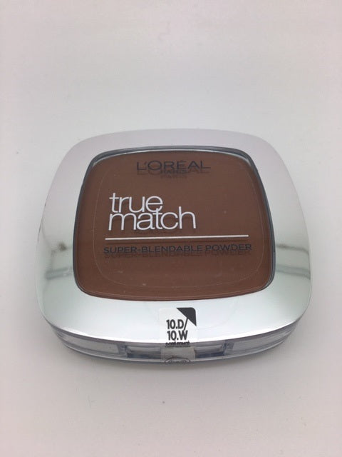 L'oreal True Match Super Blendable Powder, 10.D/10.W Deep Golden x 6 (£2.25 each)