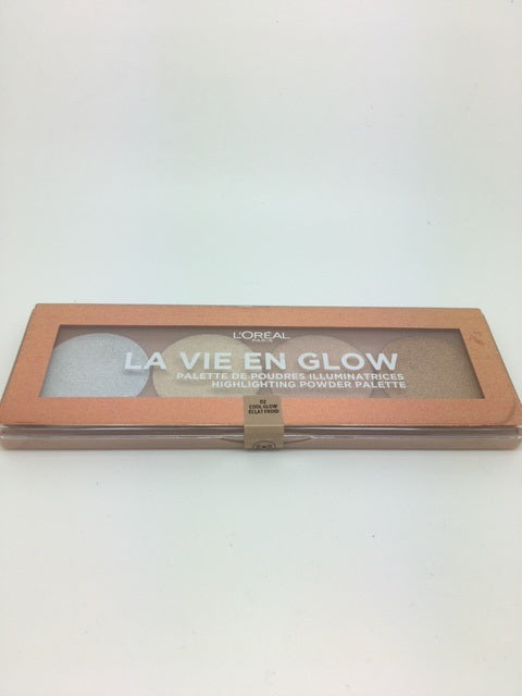 L'oreal La Vie En Glow Highlighting Palette, 02 Cool Glow x 6 (£2.50 each)