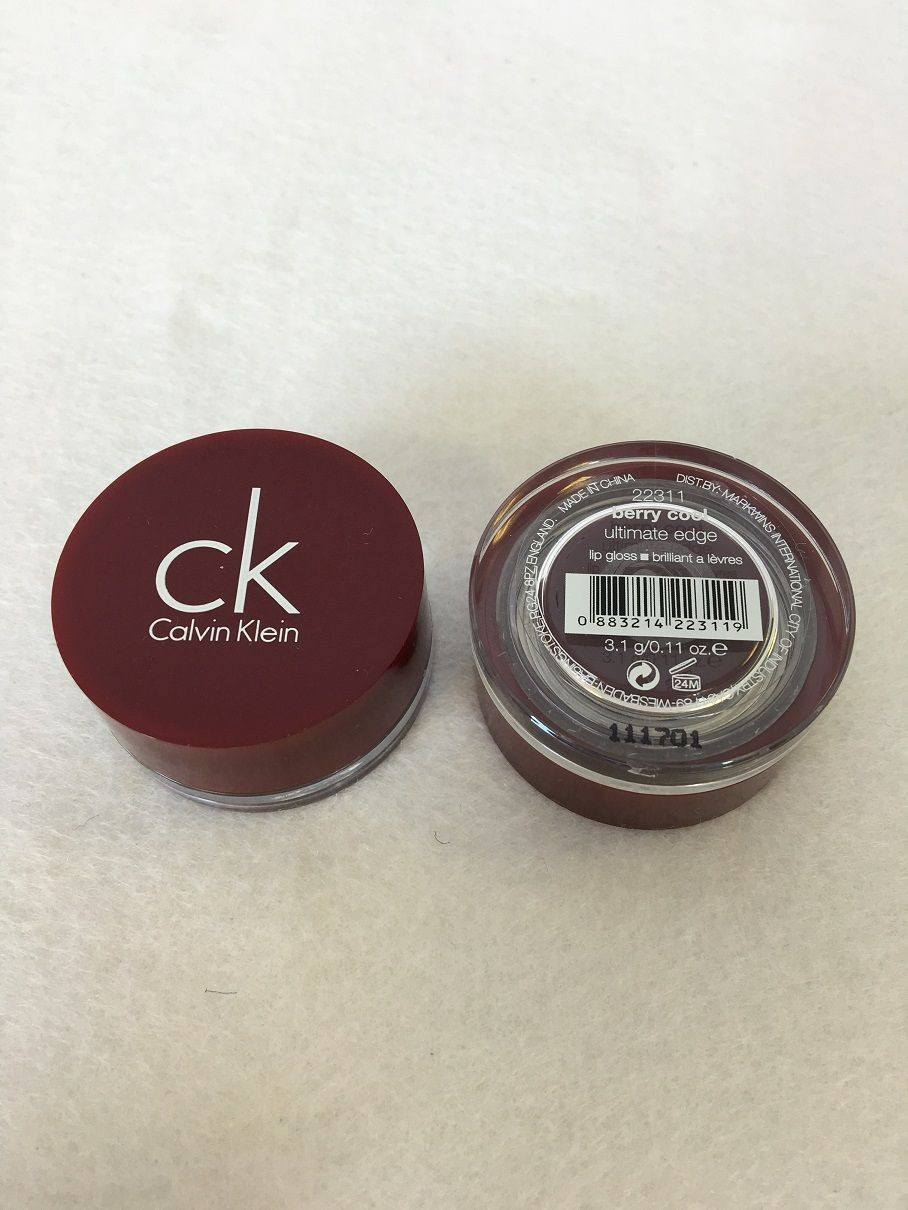 Calvin Klein Ultimate Edge Lip Gloss Pot (Berry Cool) x 12 (£0.80 each) - Fizzy Peach Ltd