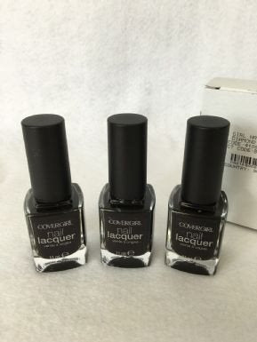 Covergirl 11Ml Nail Lacquer Black Diamond x 3 (£0.75 each) - Fizzy Peach Ltd