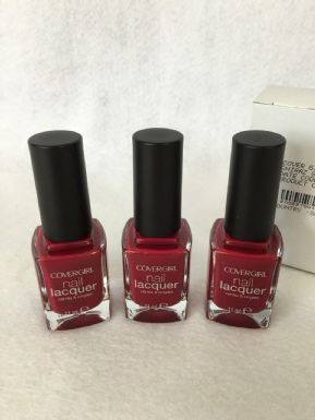 Covergirl Nail Lacquer Shiraz x 3 (£0.75 each)