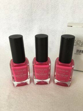 Covergirl 11ml Nail Lacquer Tickled Pink x 3 (£0.75 each)