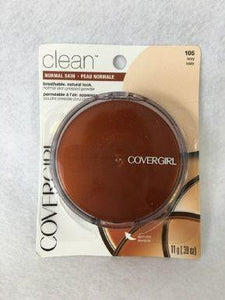 Covergirl Clean Pressed Powder, 105 Ivory x 6 (£2.10 each) - fizzypeach