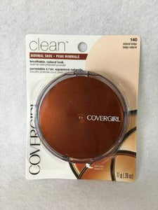 Covergirl Clean Pressed Powder Natural Beige x 3 (£2.10 each) - Fizzy Peach Ltd