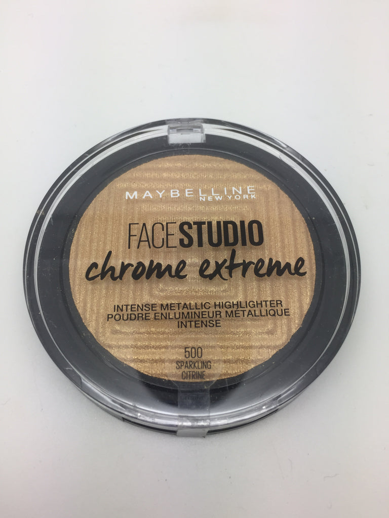 Maybelline Face Studio Chrome Extreme Highlighter, 500 Sparkling Citrine x 6 (£1.50 each)