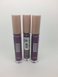 *Clearance* L'oreal Chromatic Bronze Lip Topper, 03 Purple Fizz x 48 (£1.20 each)