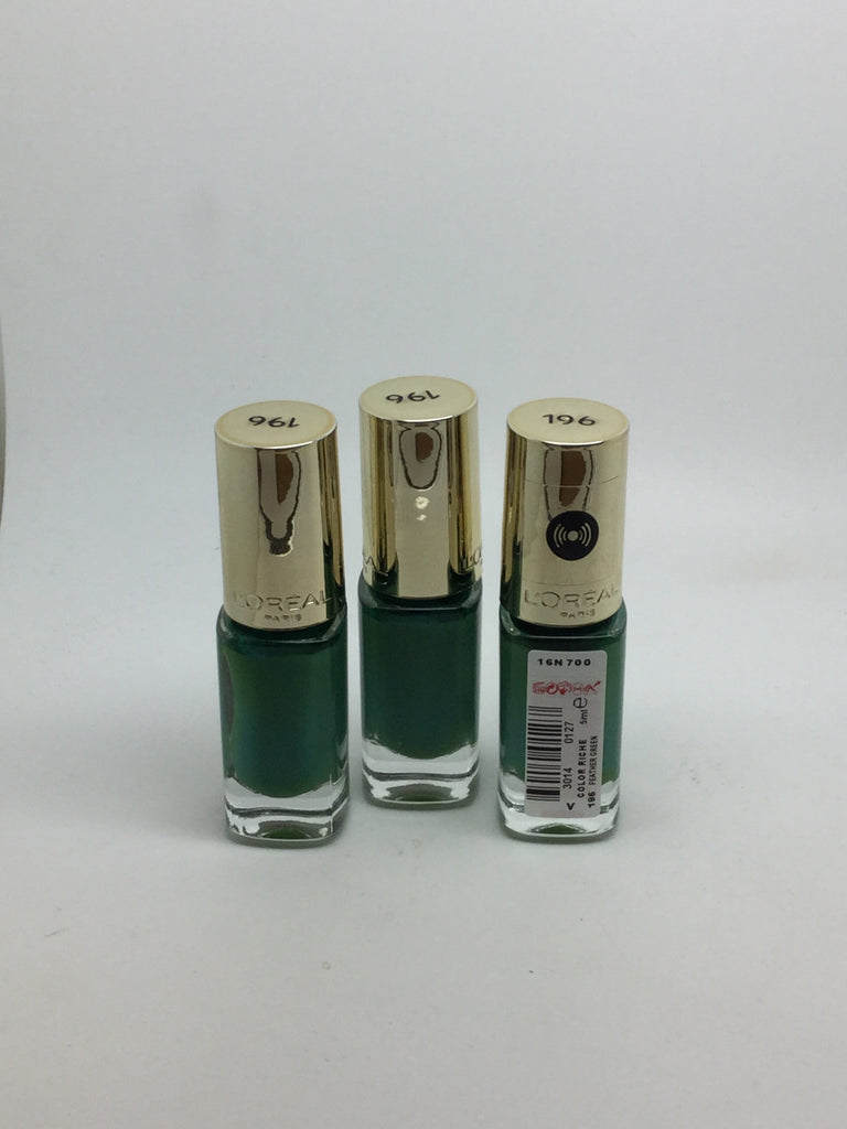 L'oreal Color Riche Nail Polish 5ml, 196 Feather Green x 6 (£1.80 each)