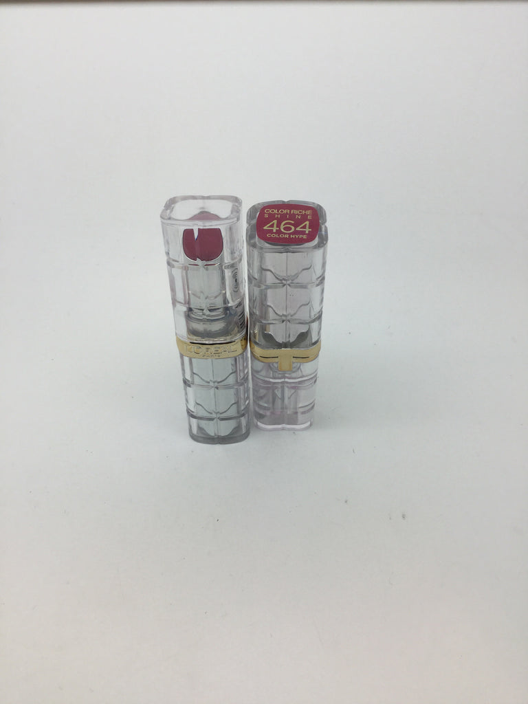 L'oreal Color Riche Shine Lipstick, 464 Color Hype x 6 (£1.50 each)