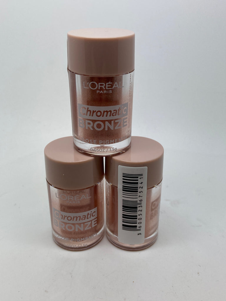 L'oreal Chromatic Bronze Loose Pigments, 02 Everything is Permitted x 6 (£1.50 each)
