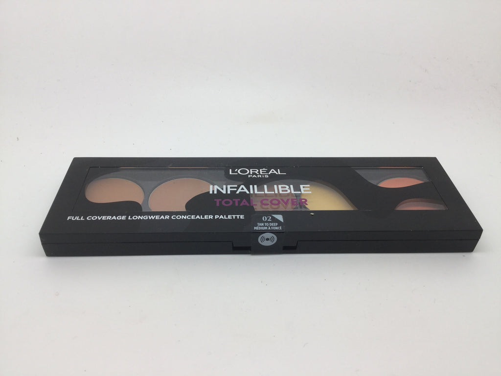 L'oreal Infaillibile Total Cover Concealer Palette, 02 Tan To Deep x 6 (£2.50 each)