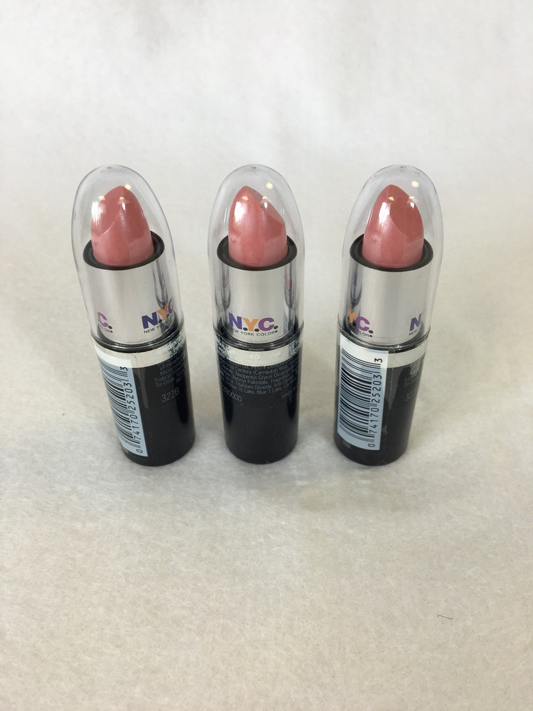 NYC Ultra Moist Lip Wear Lipstick 322B Peach Ice x 12 (£0.50 each) - Fizzy Peach Ltd