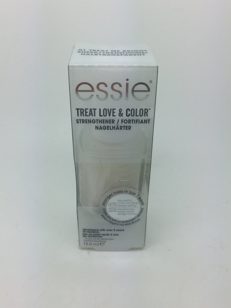 Essie Treat Love & Color Strengthener, 01 Treat Me Bright x 6 (£1.65 each)