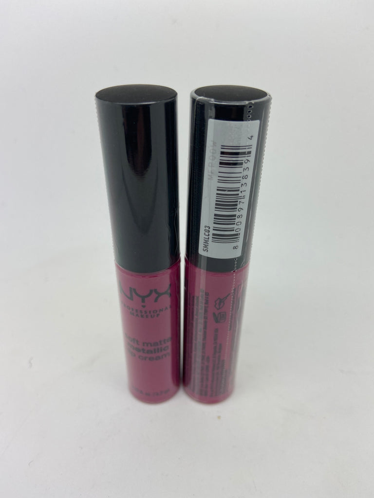 NYX Soft Matte Metallic Lip Cream, Paris X 6 (£1.50)