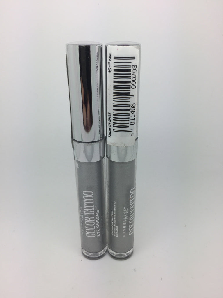 Maybelline Color Tattoo Eye Chrome, 580 Silver Spark x 6 (£1.50 each)