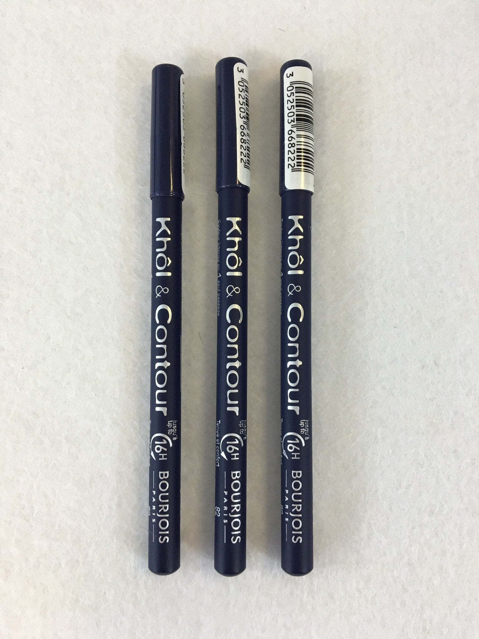 Bourjois Khol & Contour Eye Pencil 82 Bleu Graphique x 6 (£1.50 each) - Fizzy Peach Ltd