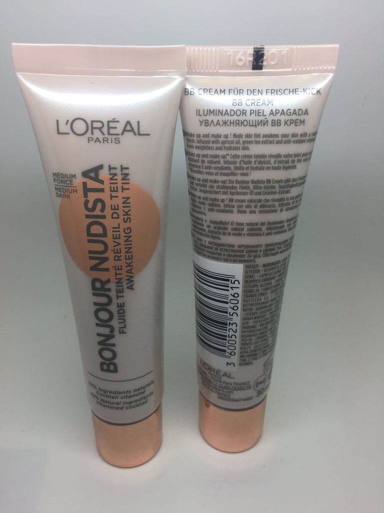 *Clearance* L'oreal Bonjour Nudista Skin Tint, 30ml, Medium Dark x 48 (£1.35 each)