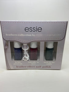 Essie Leathers Collection, Leather Effect Nail Polish x 6 (£2.00 each)
