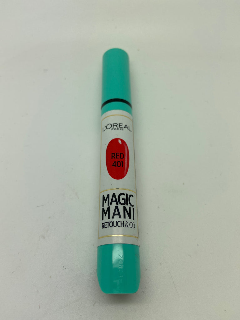 L'oreal Magic Mani Retouch Pen, 401 Red x 6 (£0.75 each)