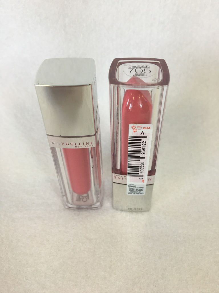 Maybelline Color Elixir Lip Lacquer - 705 Blush Essence x 12 (£1.35 each) - Fizzy Peach Ltd