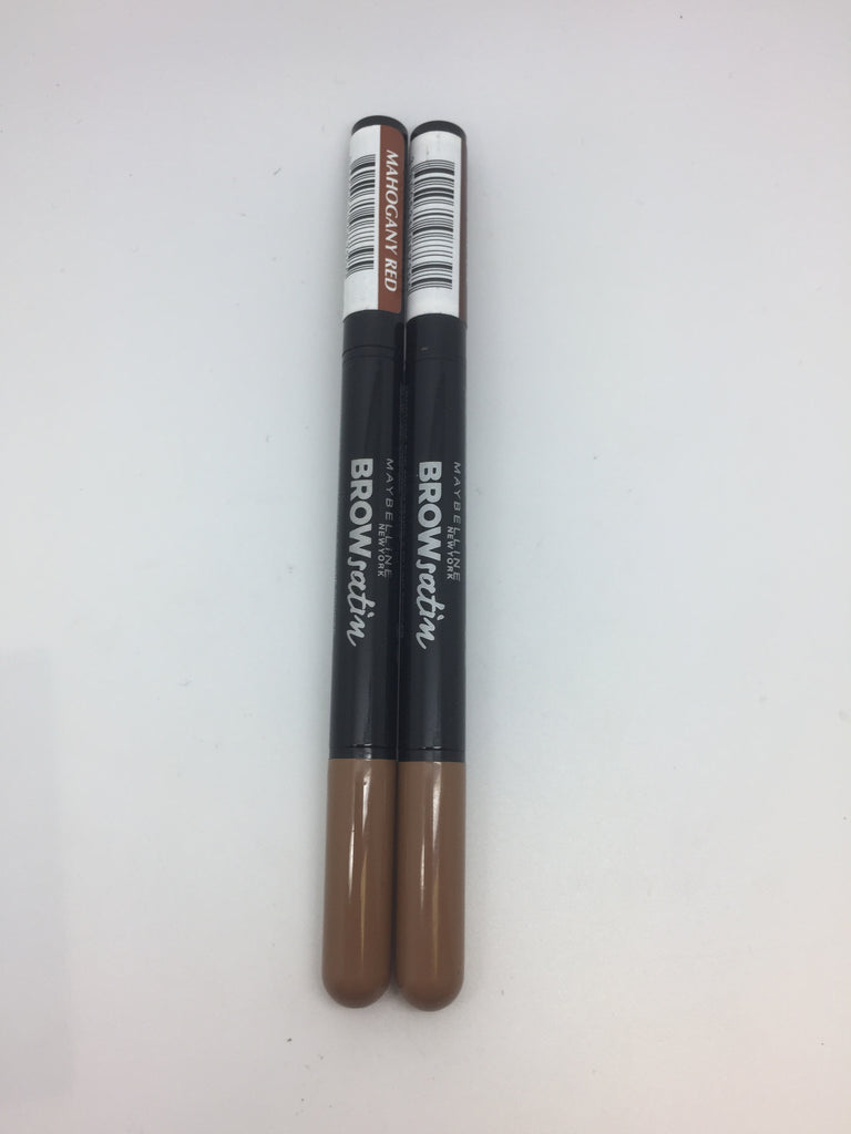 Maybelline Brow Satin Due Brow Pencil & Filling Powder, Mahogany Red x 6 (£1.20 each)