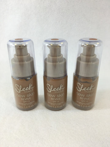 Sleek New Skin Revive Foundation - 978 Toffee x 6 (£1.50 each)