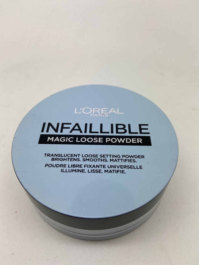 L'oreal Infallible Magic Loose Powder, Translucent Setting Powder x 6 (£3.00)