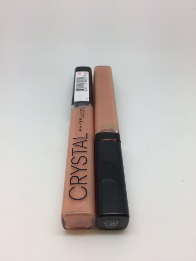 Maybelline Crystal Lip Gloss, 210 Striking Peach x 6 (£0.80 each)