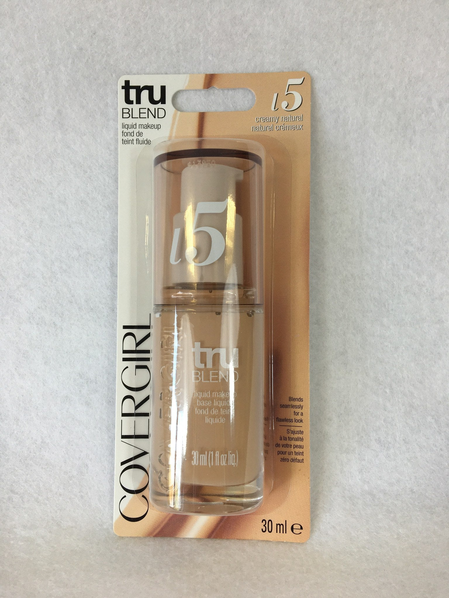 Covergirl Tru Blend Foundation Creamy Natural x 3 (£2.25 each) - Fizzy Peach Ltd