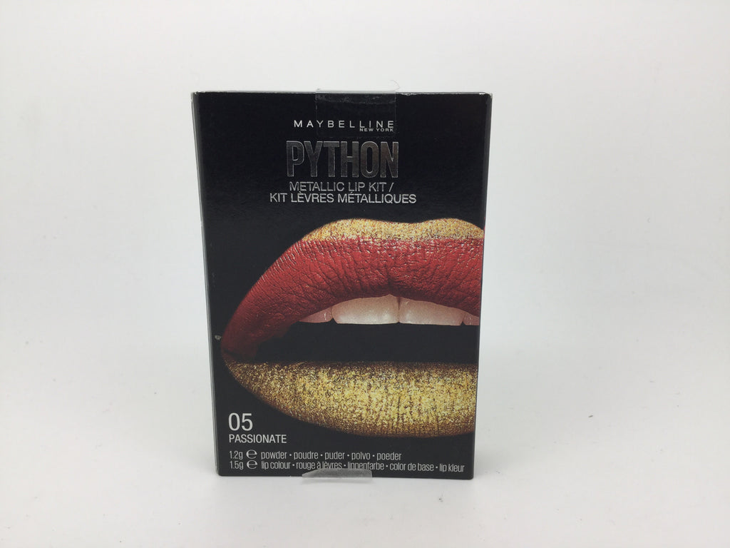 Maybelline Python Metalic Lip Paint, 05 Passionate x 6 (£1.20 each)