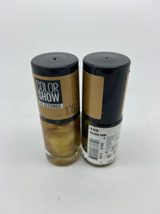 Maybelline Colorshow 60 Seconds Nail Polish. 108 Golden Sand x 6 (£0.50 each)