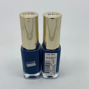 L'oreal Color Riche Jeans Effect Nail Polish 5ml, 860 Indigo Classique x 6 (£0.30 each)