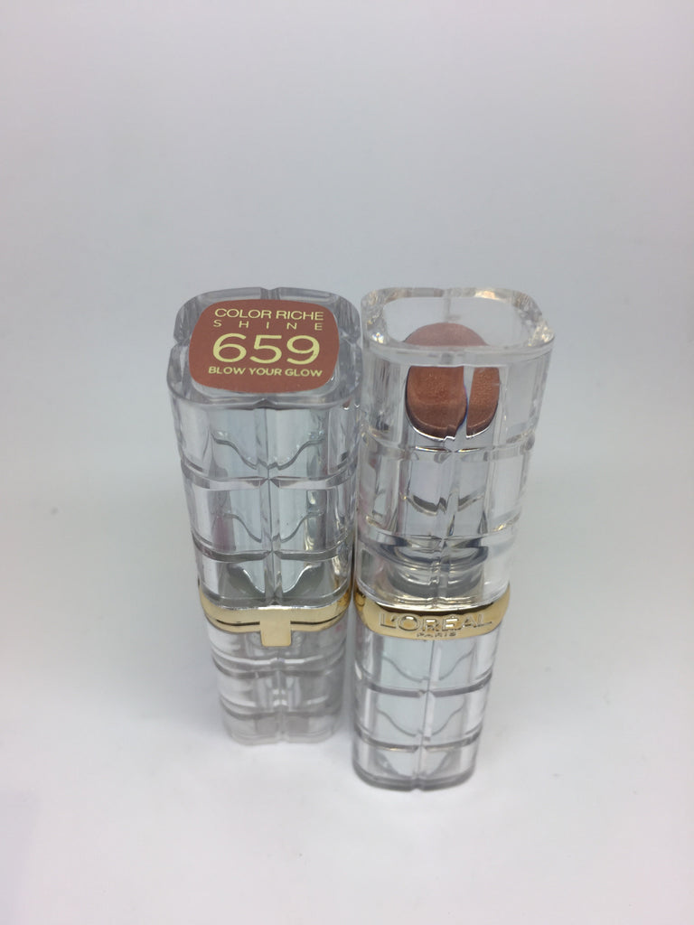 L'oreal Color Riche Shine Lipstick, 659 Blow Your Glow x 6 (£1.50 each)