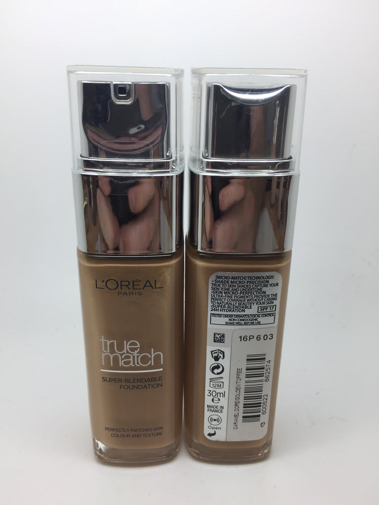 L'oreal True Match Foundation, 6.5D/6.5W Golden Toffee x 6 (£3.00 each)