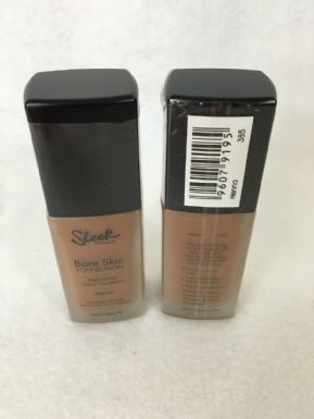 Sleek Bare Skin Foundation - 385 Henna x 6 (£1.50 each) - Fizzy Peach Ltd