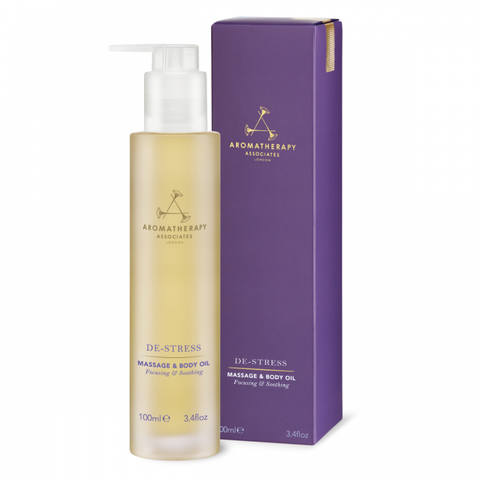 De-Stress Massage & Body Oil