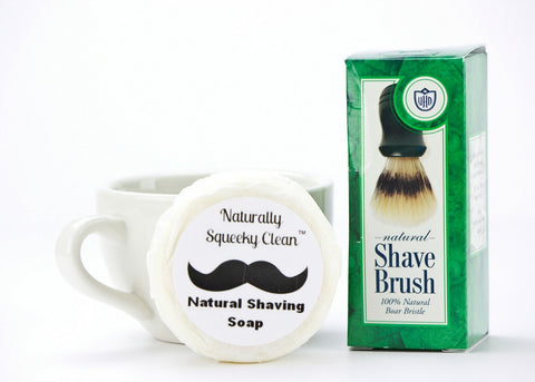 Naturally Squeeky Clean Shaving Set