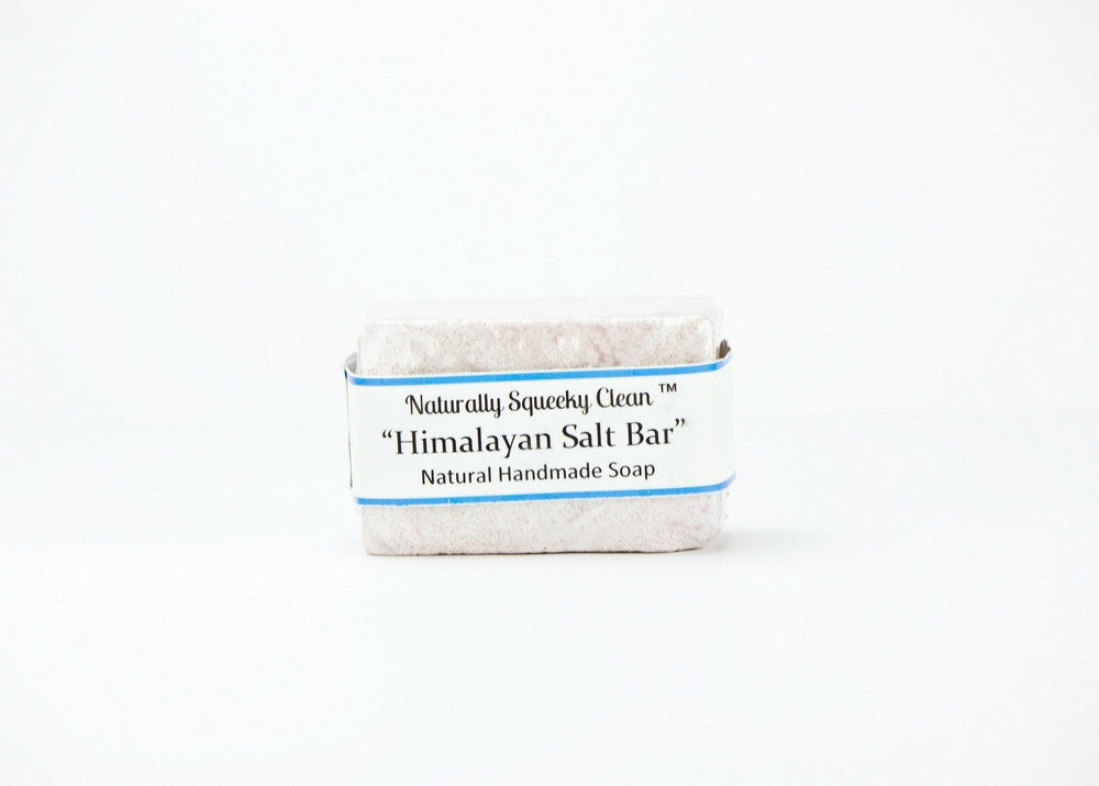 Naturally Squeeky Clean Himalayan Salt Bar - Natural Handmade Soap