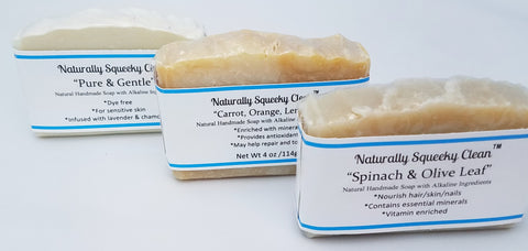 Naturally Non Toxic Lavishly 💦 Signature Soaps Alkaline Ingredients ~ 3 pack 🛀 Lavishly Quality Soap that nourishes your skin with the finest non toxic 💢 essential oils which gives your body 💪 and skin benefits where many other soaps fail!
