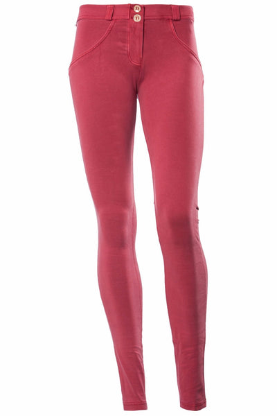 WR.UP® Shaping Pants Skinny Low Faded Red