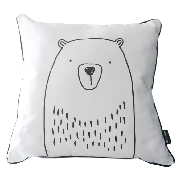 Scandi Scatter Cushion - Bear