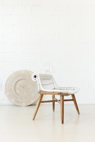 Cheshire Chair - White Moss Collection