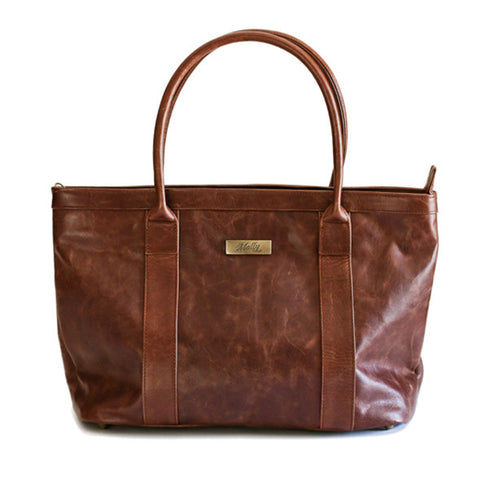 Leather Emily Handbag