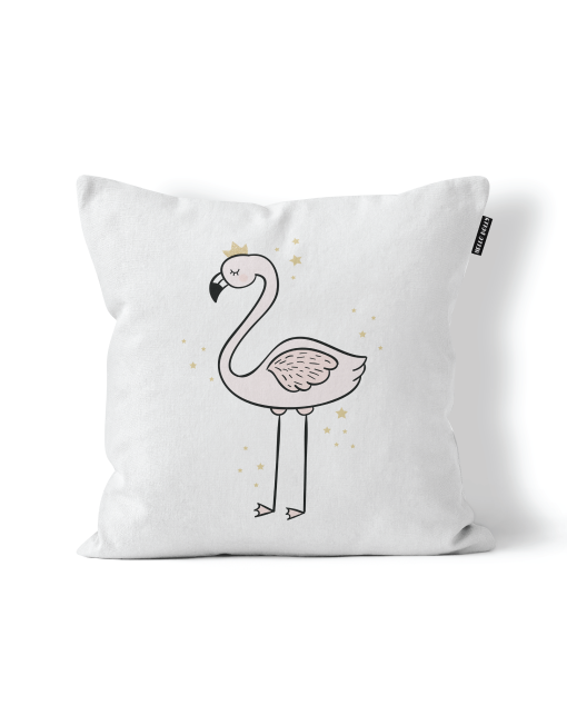 Scandi Scatter Cushion - Flamingo