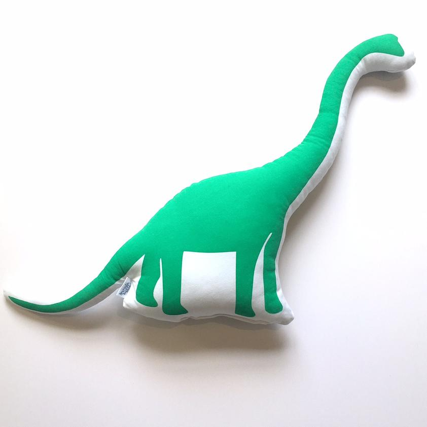 Dinosaur Plushies - Green & Black