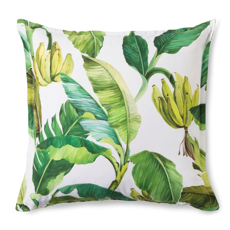 Scatter Cushion -  Wild Banana (White)