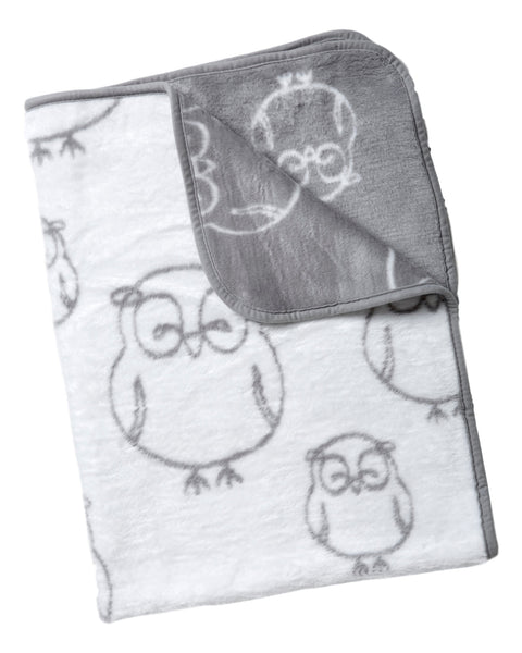 Toddler Blanket - HooHoo Owl