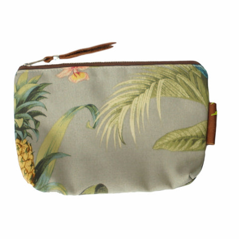 Accessory & Coin Bags with Leather - Tropical