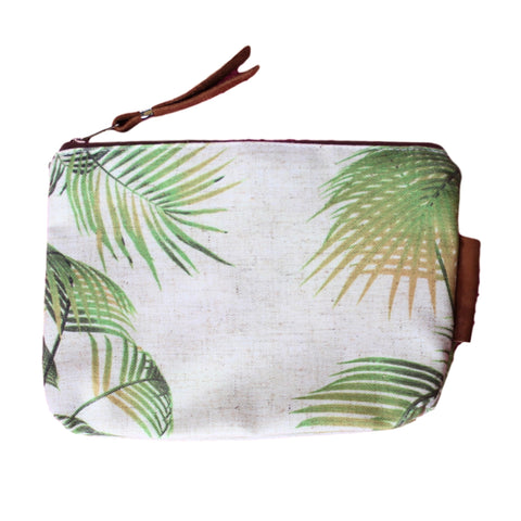 Accessory Bag with Leather - Palm