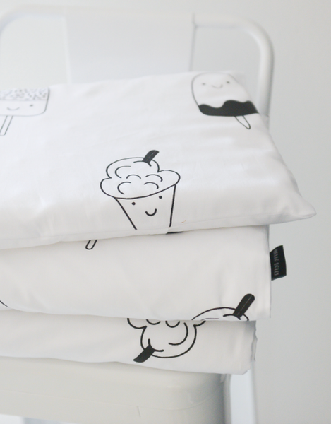 Baby/Toddler Duvet Set - Ice creams & Lollies